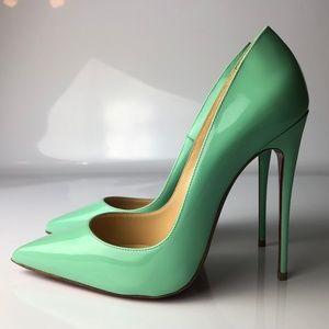 Christian Louboutin So Kate 120 Opal Heels 36.5